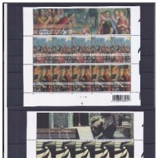 Sellos: 2 MP ** BELGICA 2006, YT 3516/ 19. Lote 296019473