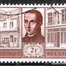 Sellos: [C0696] BÉLGICA 1965, SAINT JEAN BERCKMANS (U). Lote 296754863