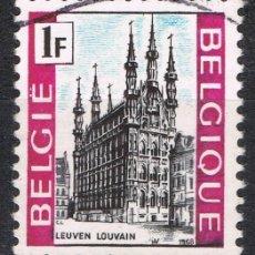 Sellos: [C0699] BÉLGICA 1968, TURISMO, 1 FR. (U). Lote 296924333