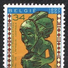 Sellos: [C0700] BÉLGICA 1997, CENTENARIO DEL MUSEO REAL DE ÁFRICA CENTRAL, 34 FR. (U). Lote 296926613