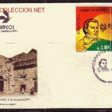 Sellos: BOLIVIA SPD 899/900 - AÑO 1995 - 150º ANIVERSARIO DEL HIMNO NACIONAL. Lote 7894306