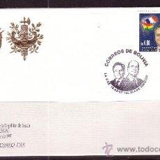 Sellos: BOLIVIA SPD 955 - AÑO 1997 - VISITA DEL PRESIDENTE FRANCES JACQUES CHIRAC. Lote 18127020