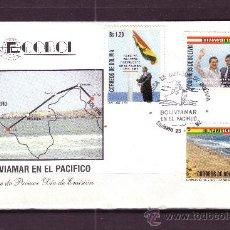 Sellos: BOLIVIA SPD 786/88 - AÑO 1992 - ZONA FRANCA BOLIVIANA EN ILO - PERU. Lote 25165195