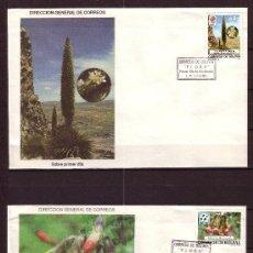 Sellos: BOLIVIA SPD 726/30 - AÑO 1989 - FLORA - FLORES Y EMBLEMAS DE ACONTECIMIENTOS DEPORTIVOS MUNDIALES. Lote 25165454