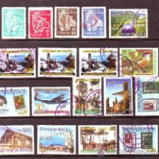Stamps - BOLIVIA.MINICOLECCION 18 SELLOS USADOS.VER IMAGEN. - 26661259