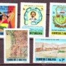 Sellos: BOLIVIA***.AÑO 1979.YVERT 587/591.AÑO DEL CENTENARIO DEL LITORAL CAUTIVO(2).. Lote 26661484