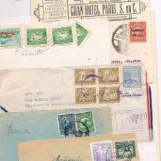Sellos: BOLIVIA. CONJUNTO DE 5 CARTAS DIRIGIDAS A ESPAÑA. Lote 43068782