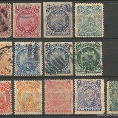 Sellos: BOLIVIA 1887-1893 CONJUNTO DE SELLOS USADOS. Lote 57690015