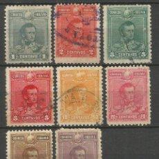 Sellos: BOLIVIA YVERT NUM. 59/66 SERIE COMPLETA USADA. Lote 57690075