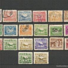 Sellos: BOLIVIA 1939-1955 CONJUNTO DE SELLOS DE BENEFICENCIA EN SU MAYORIA USADOS LOS NUEVOS CON FIJASELLOS. Lote 57700389