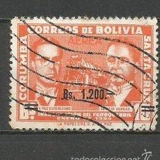 Sellos: BOLIVIA CORREO AEREO YVERT NUM. 208 SERIE COMPLETA USADA. Lote 58216809