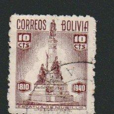 Sellos: BOLIVIA.1940.- 10 CENT.USADO.. Lote 79560749
