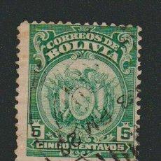 Sellos: BOLIVIA.1919-21.- 5 CENT.YVERT 113.USADO.. Lote 79561185