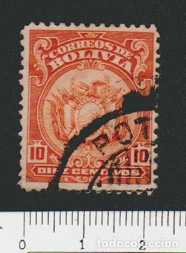 BOLIVIA.1919-21.- 10 CENT.YVERT 114.USADO. (Sellos - Extranjero - América - Bolivia)