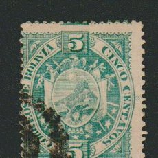 Sellos: BOLIVIA.1894.- 5 CENT.YVERT 41.USADO.. Lote 79592465