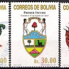 Sellos: BOLIVIA 2001 - USADO. Lote 99508031