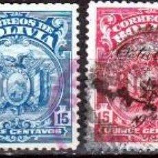 Sellos: BOLIVIA . 1927/1928 .*MH. Lote 102924347