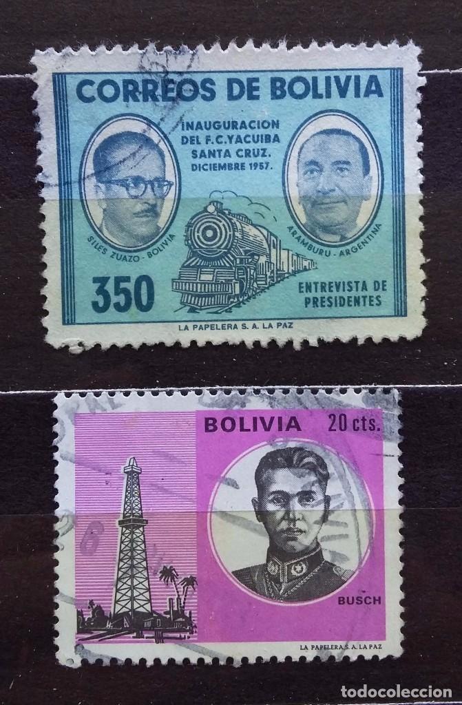 BOLIVIA - SELLOS USADOS (Sellos - Extranjero - América - Bolivia)