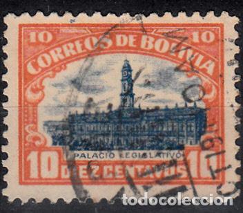 BOLIVIA. YVERT 108 USADO. (Sellos - Extranjero - América - Bolivia)