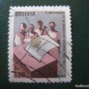 Sellos: BOLIVIA, 1964 CORREO AEREO, YVERT 232. Lote 148303586