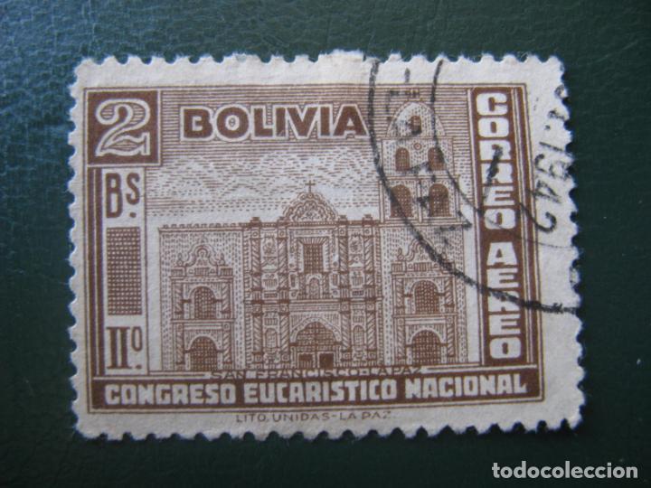 BOLIVIA, 1939, CORREO AEREO, YVERT 55 (Sellos - Extranjero - América - Bolivia)