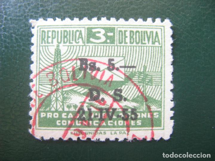 Sellos: Bolivia, 1953,sello de beneficencia, Yvert 16 - Foto 1 - 148435690