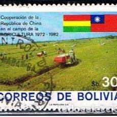 Sellos: BOLIVIA // YVERT 625 A // 1982 ... USADO. Lote 195640006
