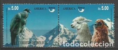 BOLIVIA 1995 - AMERICA UPAEP - YVERT 806-807** (Sellos - Extranjero - América - Bolivia)