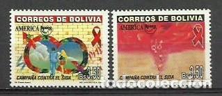 BOLIVIA 2000 - AMERICA UPAEP - YVERT 1061/1062** (Sellos - Extranjero - América - Bolivia)