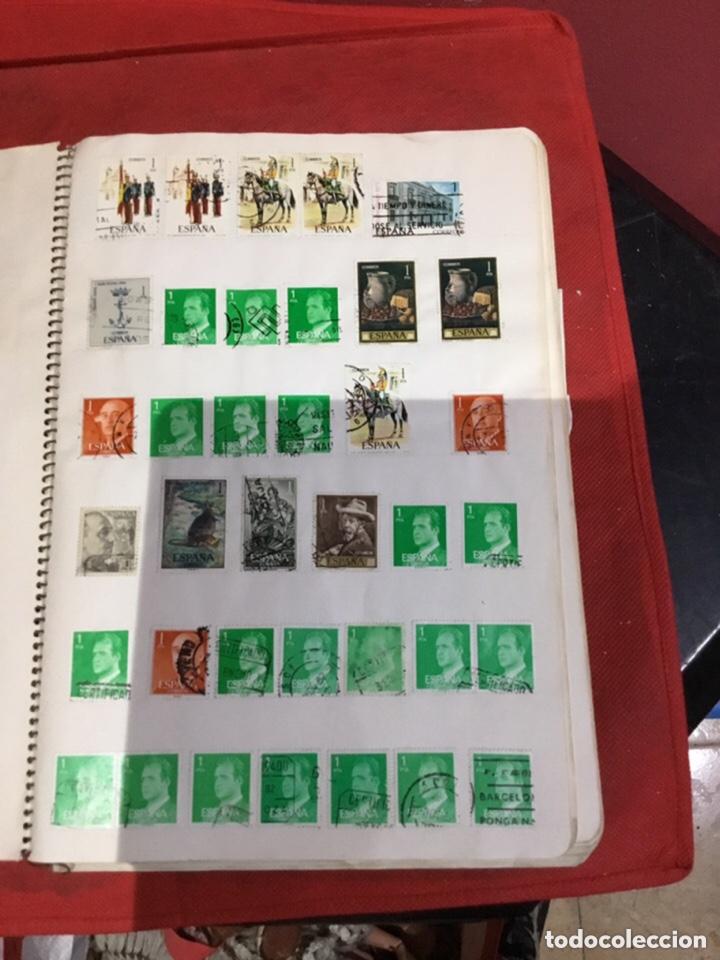 Sellos: Álbum de sellos antiguos coleccionismo.ver fotos - Foto 4 - 234538670