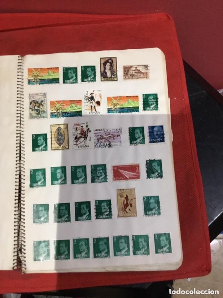Sellos: Álbum de sellos antiguos coleccionismo.ver fotos - Foto 9 - 234538670