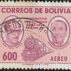 Sellos: BOLIVIA AÉREO YVERT 181. Lote 265815064