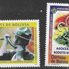 Sellos: BOLIVIA Nº 1936 AL 1937 (**). Lote 276239043