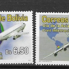 Sellos: BOLIVIA Nº 1956 AL 1957 (**). Lote 276245933