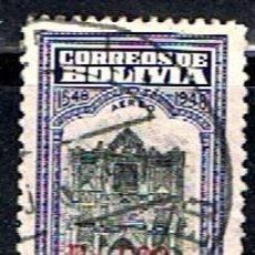 Sellos: BOLIVIA // YVERT 172 AEREO // 1957 ... USADO. Lote 276924358