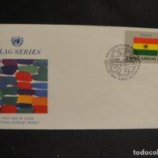 Sellos: BOLIVIA - SOBRE 1º DIA , NACIONES UNIDAS - -1981. Lote 283074163