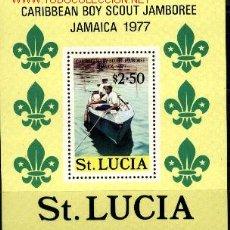 Sellos: BOY SCOUTS - SANTA LUCÍA. Lote 192008