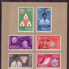 Sellos: TOGO HB 5*** - AÑO 1961 - MOVIMIENTO SCOUT. Lote 26470342