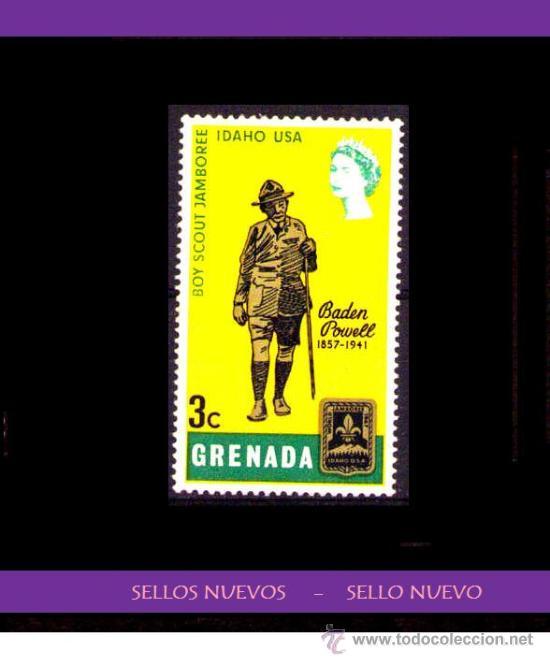 LOTE SELLO NUEVO - GRENADA (AHORRA GASTOS COMPRANDO MAS SELLOS (Sellos - Temáticas - Boy Scout)