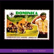 Sellos: LOTE SELLO NUEVO - DOMINICA (AHORRA GASTOS COMPRANDO MAS SELLOS. Lote 22181062