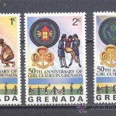 Sellos: GRENADA, SELLOS NUEVOS CON GOMA. Lote 24880292