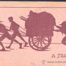 Sellos: TARJETA CONMEMORATIVA HUNGARA DE LA REUNIÓN DE 1928 ILUSTRADA CON TEMA ALUSIVO. Lote 25963186