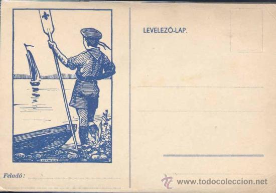 TARJETA DE FRANQUICIA MILITAR 2ª GUERRA MUNDIAL (Sellos - Temáticas - Boy Scout)