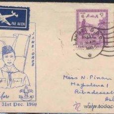 Stamps - TARJETA CONMEMORATIVA JAMB- OREE DE PAKISTAN - 25963236