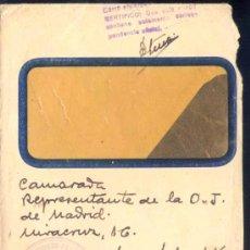 Stamps - SOBRE EN FRANQUICIA DE LAS ORGANIZACIONES JUVENILES ESPAÑOLAS. AÑO 1939 - 25963354