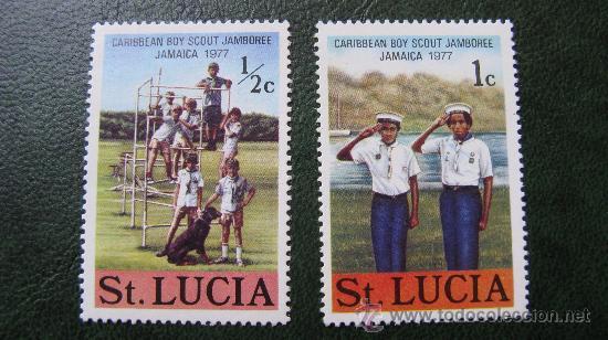 SANTA LUCIA 1977, TEMATICA BOY SCOUT (Sellos - Temáticas - Boy Scout)