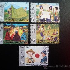Stamps - STATE OF MAN. JAMBOREE 71. BOY SCOUTS - 29270286