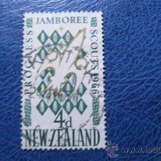 Sellos: 1966 NUEVA ZELANDA, TEMA BOY SCOUTS, 4ª JAMBOREE1966. Lote 29755777