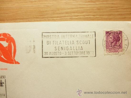 Sellos: 60 ANIVERSARIO SCOUT SCOUTS ITALIANO, FILATELIA SCOUT SENIGALLIA 1972 ITALIA ESCULTISMO - Foto 3 - 33167268