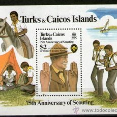 Sellos: BOY SCOUTS - TURK Y CAICOS. Lote 257363395